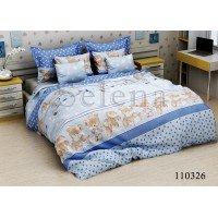 Детское постельное белье бязь Соня Blue
