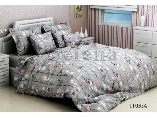 """Комплект подростковый бязь """"Зебры Grey"""" 110334 от Selena в интернет-магазине PannaTeks"""