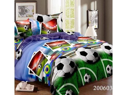 Детское постельное белье для мальчика ранфорс Гол 200603 от Selena в интернет-магазине PannaTeks