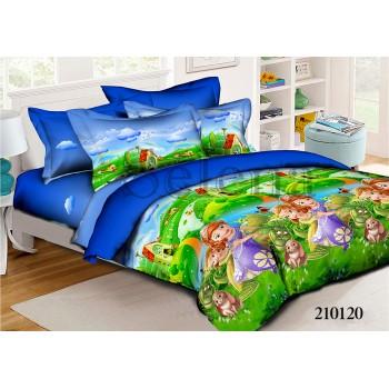 Детское постельное белье для девочки ранфорс София с Друзьями