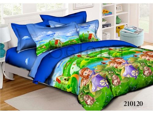 Детское постельное белье для девочки ранфорс София с Друзьями 210120 от Selena в интернет-магазине PannaTeks