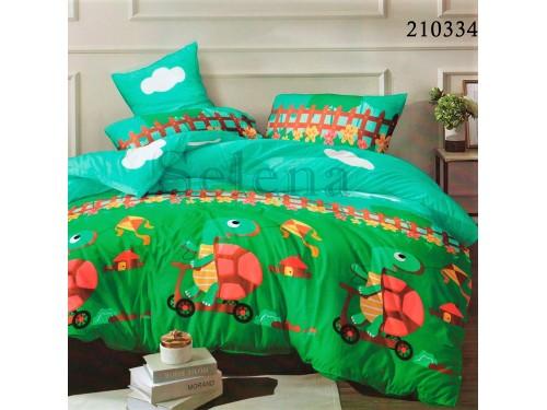 """Комплект подростковый ранфорс """"Веселая Черепаха"""" 210334 от Selena в интернет-магазине PannaTeks"""