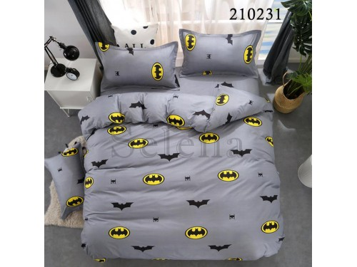 """Комплект подростковый ранфорс """"Бетмен"""" 210231 от Selena в интернет-магазине PannaTeks"""