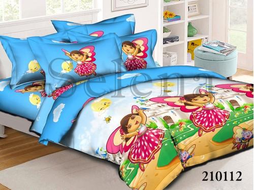 Детское постельное белье ранфорс Дора - Даша Путешественница 210112 от Selena в интернет-магазине PannaTeks