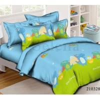 Детское постельное белье ранфорс Dino Family