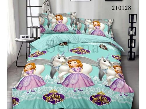Детское постельное белье для девочки ранфорс Друзья Софии 210128 от Selena в интернет-магазине PannaTeks