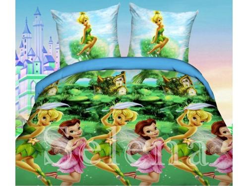 Детское постельное белье для девочки ранфорс Феи 210101 от Selena в интернет-магазине PannaTeks