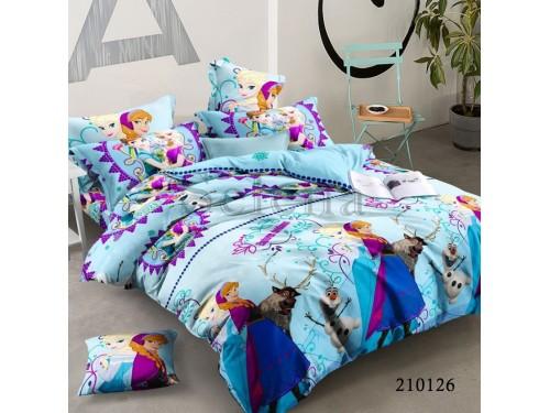 Детское постельное белье для девочки ранфорс Холодное сердце, Selena, 210126 210126 от Selena в интернет-магазине PannaTeks