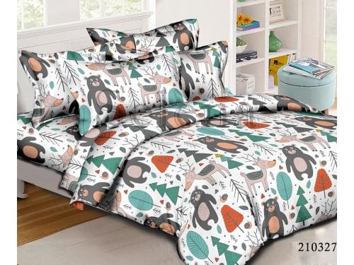 Детское постельное белье ранфорс Лесная Братия 210327 от Selena в интернет-магазине PannaTeks