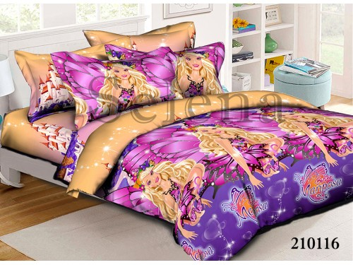 """Комплект подростковый ранфорс """"Марипоса"""" 210116 от Selena в интернет-магазине PannaTeks"""