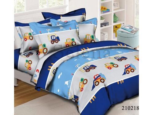 Детское постельное белье для мальчика ранфорс Грузовики, Selena, 210218 210218 от Selena в интернет-магазине PannaTeks