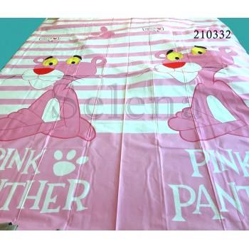 """Комплект подростковый ранфорс с компаньоном """"Пантера Pink"""" фото 1"""