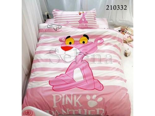 """Комплект подростковый ранфорс с компаньоном """"Пантера Pink"""" 210332 от Selena в интернет-магазине PannaTeks"""