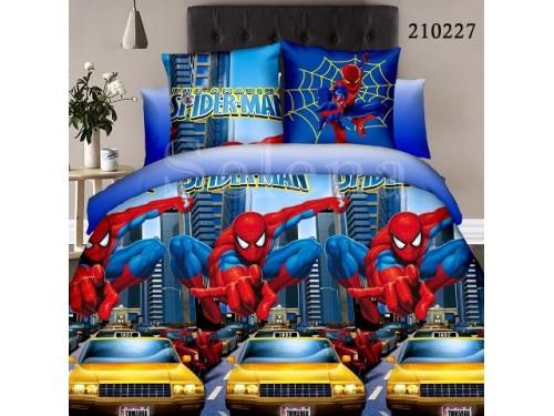 Детское постельное белье для мальчика ранфорс Паук в Городе 210227 от Selena в интернет-магазине PannaTeks