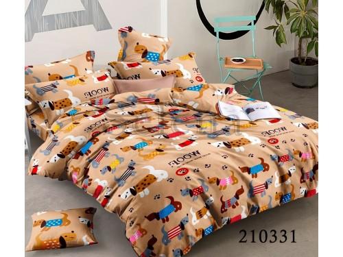 Детское постельное белье ранфорс Веселые Щенята 210331 от Selena в интернет-магазине PannaTeks