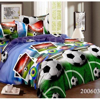 Детское постельное белье для мальчика ранфорс Гол