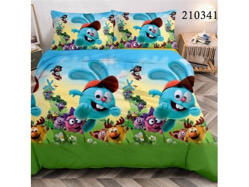 Детское постельное белье ранфорс Смешарики 210341 от Selena в интернет-магазине PannaTeks