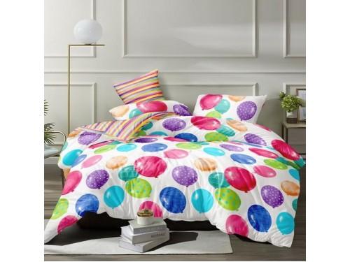 Детское постельное белье сатин Шарики 300426 от Selena в интернет-магазине PannaTeks