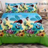 Детское постельное белье ранфорс Смешарики