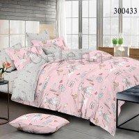 Детское постельное белье для девочки сатин Салон Шанель