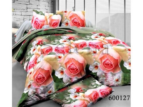 """Постельное белье поликоттон """"Букет Роз 2"""" 600127 от Selena в интернет-магазине PannaTeks"""
