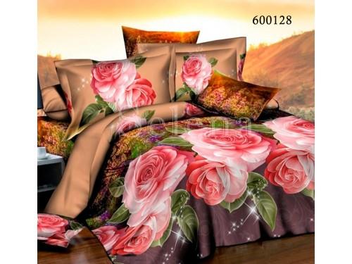 """Постельное белье поликоттон """"Роза 2"""" 600128 от Selena в интернет-магазине PannaTeks"""