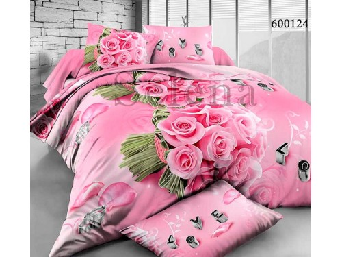 """Постельное белье поликоттон """"Букет Роз"""" 600124 от Selena в интернет-магазине PannaTeks"""