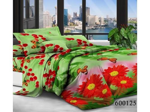 """Постельное белье поликоттон """"Герберы Красные"""" 600125 от Selena в интернет-магазине PannaTeks"""