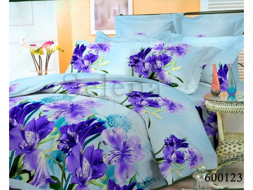 """Постельное белье поликоттон """"Ирисы"""" 600123 от Selena в интернет-магазине PannaTeks"""