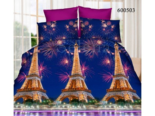 """Постельное белье поликоттон """"Париж"""" 600503 от Selena в интернет-магазине PannaTeks"""