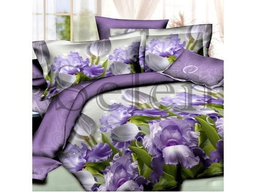 Постельное белье ранфорс Цветочный Микс 200218 от Selena в интернет-магазине PannaTeks