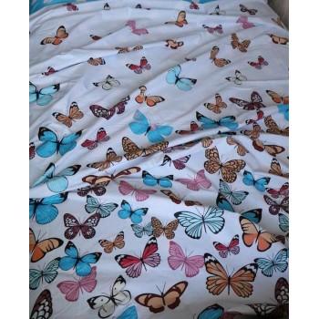 Комплект постельного белья N-7453-A-B-blue фото 3