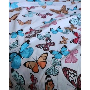 Комплект постельного белья N-7453-A-B-blue фото 2