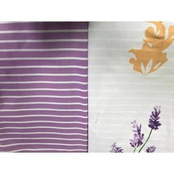 Постельное белье сатин с компаньоном Майская Лаванда фото 3