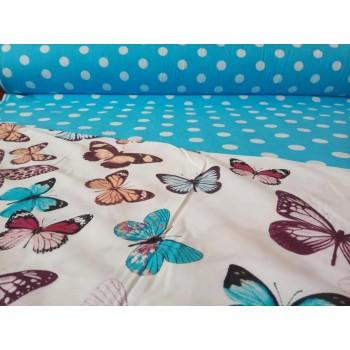 Комплект постельного белья N-7453-A-B-blue фото 6