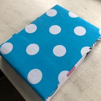 Комплект постельного белья N-7453-A-B-blue фото 9
