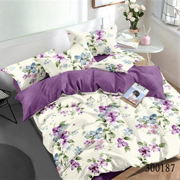 Сатиновое постельное белье Весенний Аромат