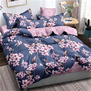 Сатиновое постельное белье Вечерняя Лилия