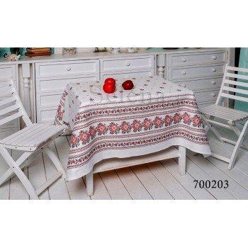 Скатерть на стол из хлопка Вышиванка, Украина