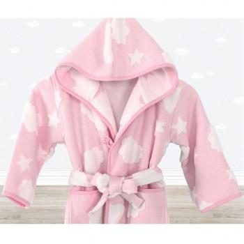 Халат детский Irya - Cloud розовый