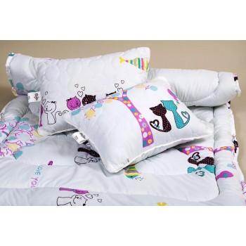 Гипоаллергенное детское одеяло в кроватку LOTUS - KITTY фото 4