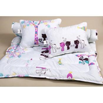 Гипоаллергенное детское одеяло в кроватку LOTUS - KITTY фото 3