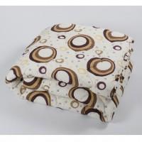 Одеяло Lotus - Colour Fiber Indi кофе