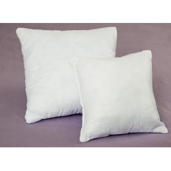 Белая подушка холлофайбер Lotus Fiber 3D фото 2