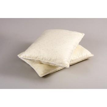 Подушка из лебяжего пуха Lotus Aero, тик, 50х70