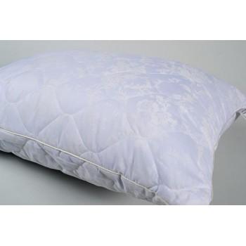 Подушка гипоаллергенная Lotus Softness Dotty, стеганая, синяя фото 1