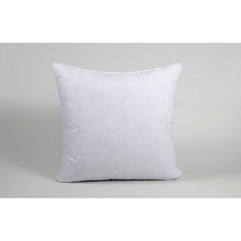 Подушка гипоаллергенная Lotus Softness Dotty, стеганая, синяя фото 2