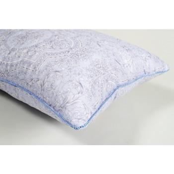 Подушка гипоаллергенная Lotus Softness Sheen синяя фото 2