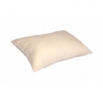 Антиаллергенная подушка Lotus Stella стеганая, хлопок, бежевая, 50х70 фото 1
