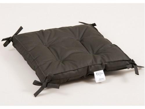 Подушка на стул, табурет с завязками Lotus Optima хаки, 40х40, квадратная 2000022086189 от Lotus в интернет-магазине PannaTeks